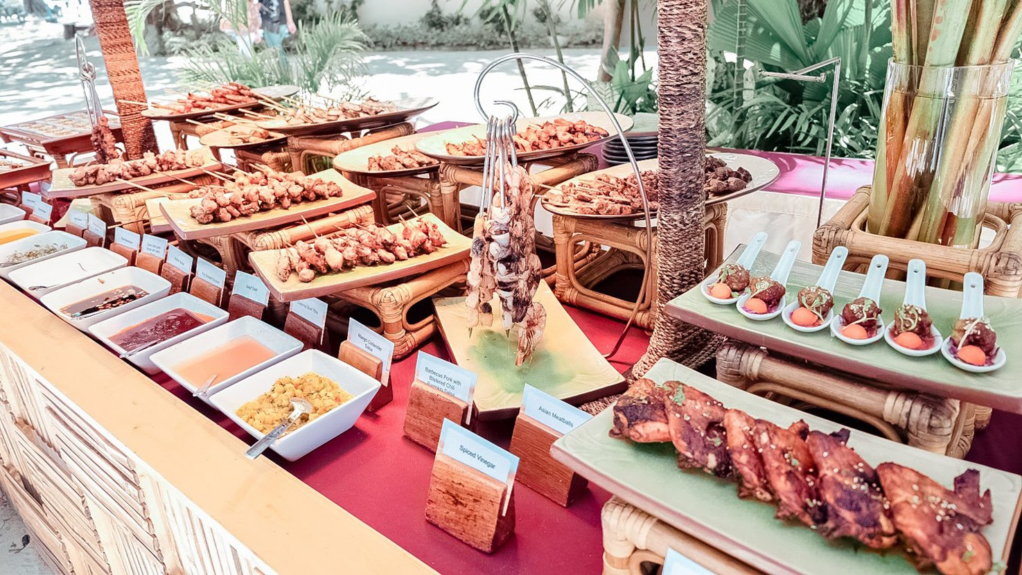 JOY OF FOOD: THEMED DINNERS AT BLUEWATER MARIBAGO BEACH RESORT