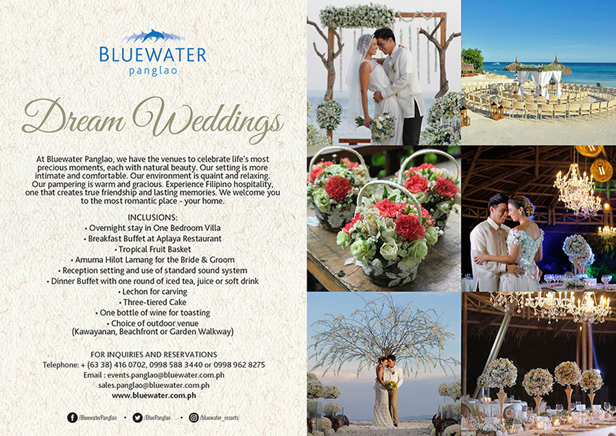 b20a01aff5 Welcome to Our Home - Bluewater Panglao - Events
